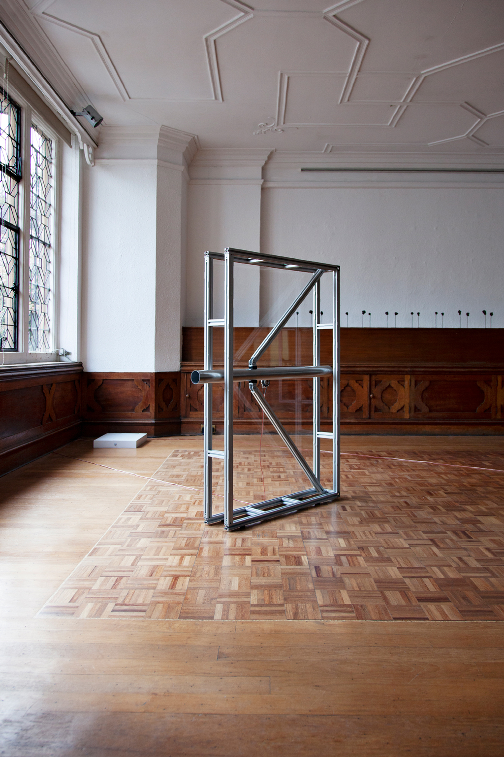 The Cost of Your Words by Fabio Lattanzi Antinori, Installation View at the Royal Society of Sculptors in London, 2020